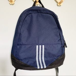 Adidas Golf Navy and Black 3 stripe Backpack